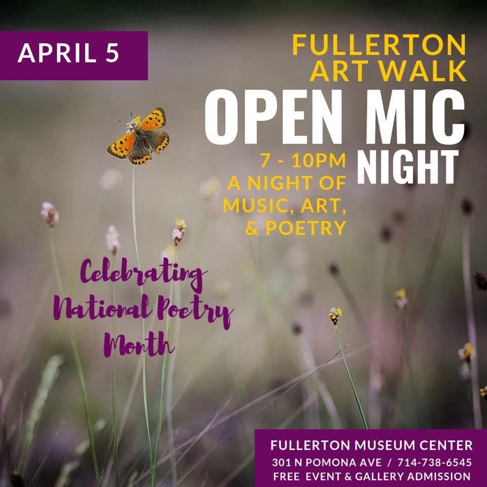 April 5th Downtown Fullerton Art Walk! | Downtown Fullerton
